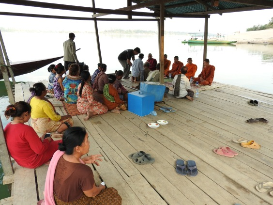 Buddhist Ceremony for the Mekong River - Preah Rumkel, Cambodia#1