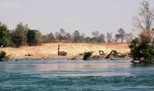 Don Sahong Dam site